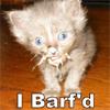 A: Barf'd