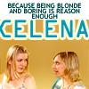 쉘리 I whip my hair like Bang Bang: awz - celena blonde & stupid = otp