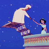 my sister asked you a question: cartoon - aladdin and jasmine