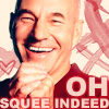 쉘리 I whip my hair like Bang Bang: actors - patrick stewart squee