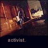 Britin: activist by paddies