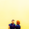 dani_meows: avengers: Clint/Natasha negative space