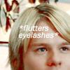 sanami276: Queer as Folk / Justin flutters eyelashe