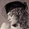 septentrion1970: Femme au chapeau